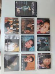 Coleção CD's e DVD Leonardo