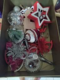 Várias decorações natalinas!