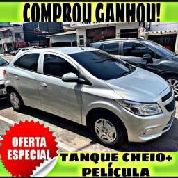 TANQUE CHEIO SO NA EMPORIUM CAR!!! ONIX 1.0 LT ANO 2016 COM MIL DE ENTRADA