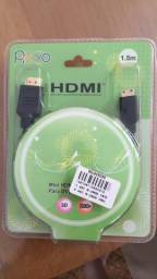 Cabo Hdmi X Mini Hdmi 1.5m P/ Celular Tablet Pc Cameras