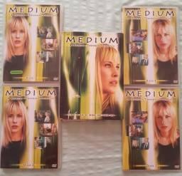 Box Dvd 1° temporada Série MEDIUM
