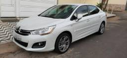 Citroen C4 lounge exclusive thp 1.6 turbo impecavel 4 pneus novos todo original e revisado - 2014