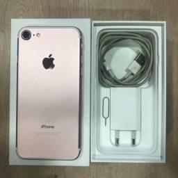 Loja física. iPhone 7 32 rosa, exatamente como na foto