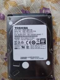 HD Toshiba para notebook 1tb