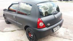Renault Clio Authentique 1.0 16V Flex 2008/2008 - 2008