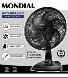 Ventilador Mondial Maxi Power 40 cm 6 Pás 140W 10 messe de garantia
