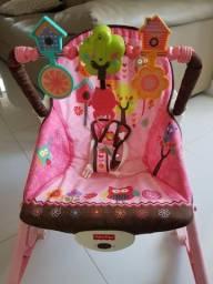 Cadeira Fisher price vibratória.