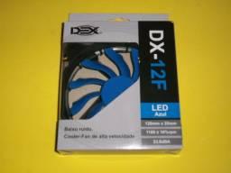 Cooler Fan 120mm LED Azul com 3 meses de garantia