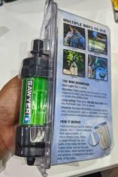 Filtro purificador de água portátil