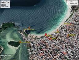 Cabo Frio - cartão crédito - 100m praia Forte
