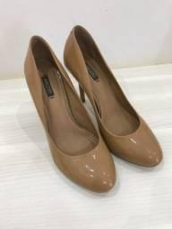 Sapato nude Arezzo