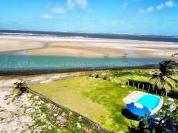 Casa Praia das Dunas 6/4 sendo 4 suítes na Praia do Saco com Piscina