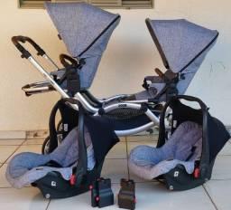 Carrinho De Bebê Abc Design Zoom Gêmeos E Bebês Conforto