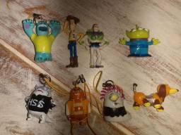 Miniaturas colecionáveis Toy story 3/4 centímetros