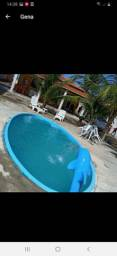 Casa com piscina na praia do Jatobá