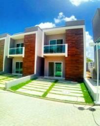 Casas em condomínio fechado  3 suítes pertinho do centro de Eusébio