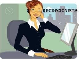 Recepcionista mulher horista para Hotel de Família