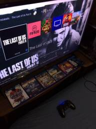 Sony Playstation 4 Slim 500 GB + 5 Jogos