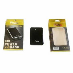 Carregador Portátil Power Bank Plugx -5000mah