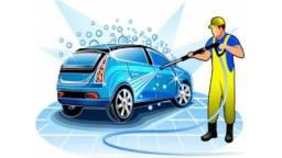 Contrata lavador de carro, otimo lava-jato, otimo ambiente de trabalho, paga bem!