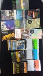 Livros ensino médio usados (qualquer um 25)