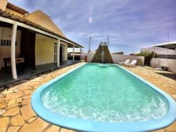 Casa com 4 quartos, com Piscina, na Praia da Caueira Sergipe