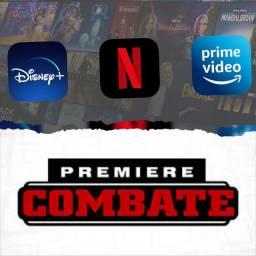 Netflix Globoplay Disney Telecine