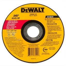 Discos Corte Fino Inox 4-1/2.045.7/8 Pol Dewalt Dw8062-ar