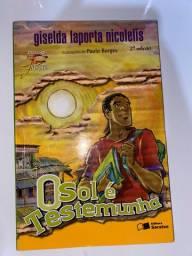 Livro literário O sol é testemunha