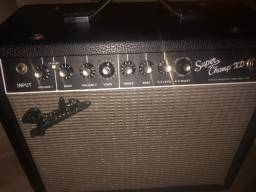 R$ 2.200 Amplificador Fender Super Champ XD - 100% Valvulado!!!