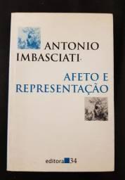 Livro Afeto e Representação de Antônio Imbasciati