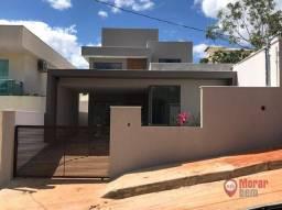 Título do anúncio: Casa com 3 dormitórios à venda, 155 m² por R$ 750.000,00 - Condomínio Trilhas Do Sol - Lag