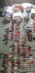 Kit manicure completo com alongamento