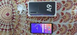 Celular Samsung  A9  nunca usado