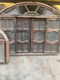 Título do anúncio: Janela colonial + basculante colonial ,Janelas e portas de alumínio,