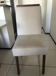 Título do anúncio: Vendo mesa de vidro conjunto com 4 cadeiras