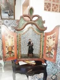 oratório com imagen de Santo Antônio