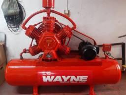 Compressor WAYNE 60pes, Industrial, Ótimas condições