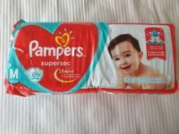 Fralda Pampers supersec