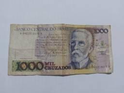 Título do anúncio: Mil Cruzados Machado de Assis (1987)