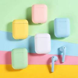 Fone De Ouvido S/ Fio Bluetooth In Pods 12 Ios Android Music.