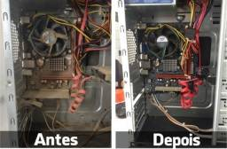 Título do anúncio: Limpeza montagem e manutenção de computadores
