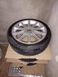 Jogos de roda 17 ,com pneu novos