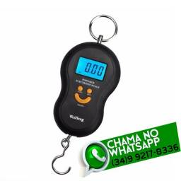 Título do anúncio: Balança Digital de Gancho 50kg * Fazemos Entregas