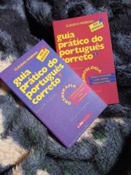 Título do anúncio: Vende-se livros para vestibular - dois kits
