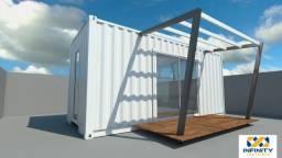Containers para escritórios e indústria.