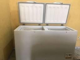 Freezer horizontal duas tampas