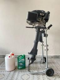 Título do anúncio: Motor De Popa Pantaneiro G3 - 4t 6,5hp