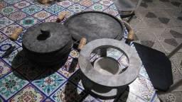 Conjunto de pedra sabão
