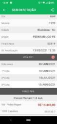 Passat 1.8 AT 98/99 aspirado